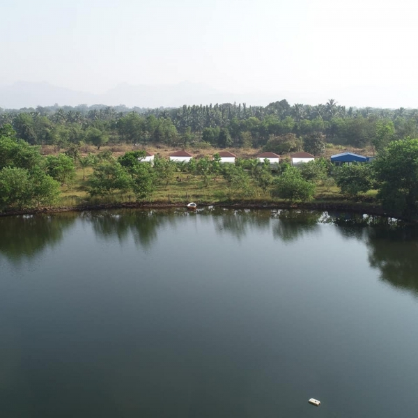 Rafting in Kolad with tent stay (weekday)