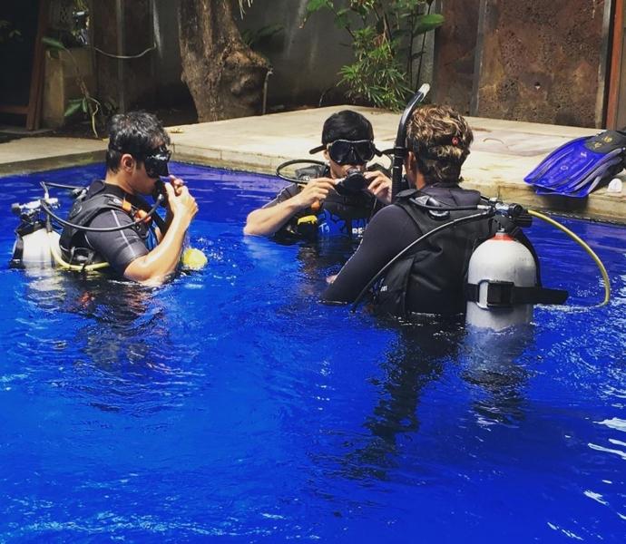 Discover Scuba Diving in Tulamben, Bali (shore)