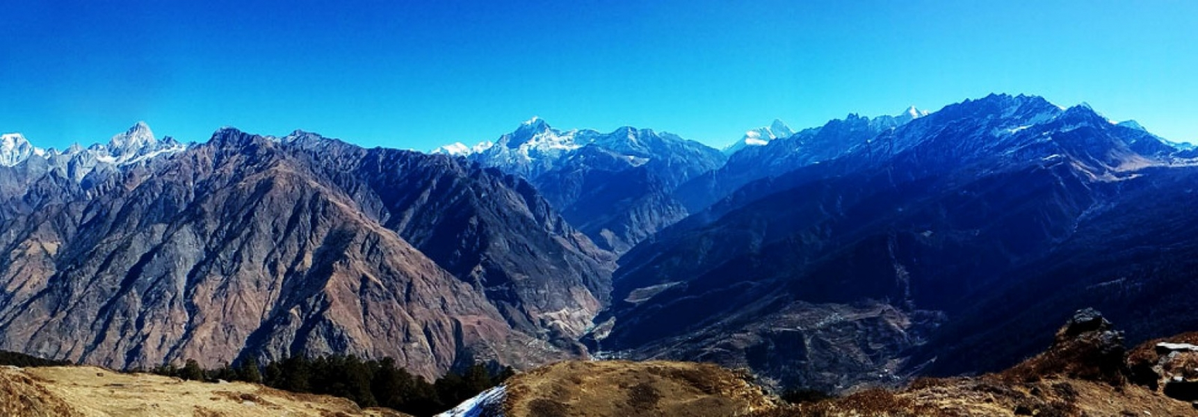 Trek to Pangarchulla peak and Kuari pass