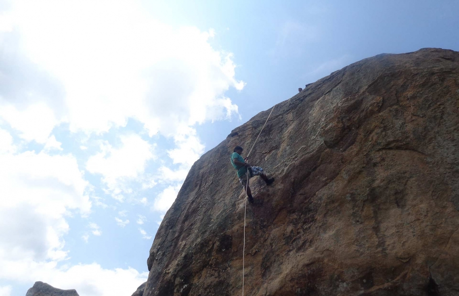 Adventure day camp at Ramnagaram