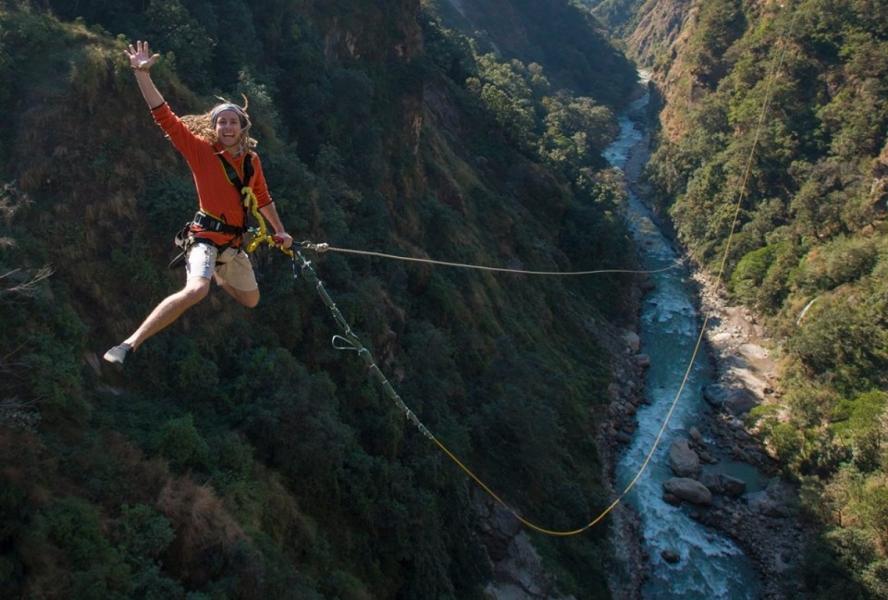 Giant Swing in Nepal