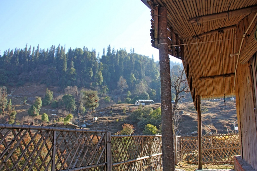 3- Day Bamboo Cottage Stay in Chopta