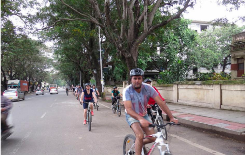 Morning Cycling Tour in Bangalore