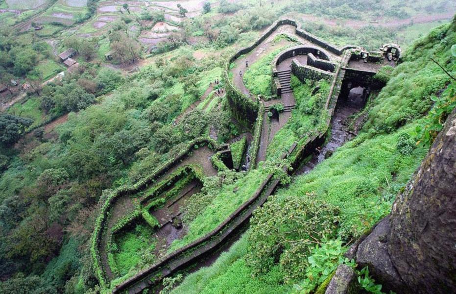 Monsoon Trek to Lohagad Fort - Ex Mumbai
