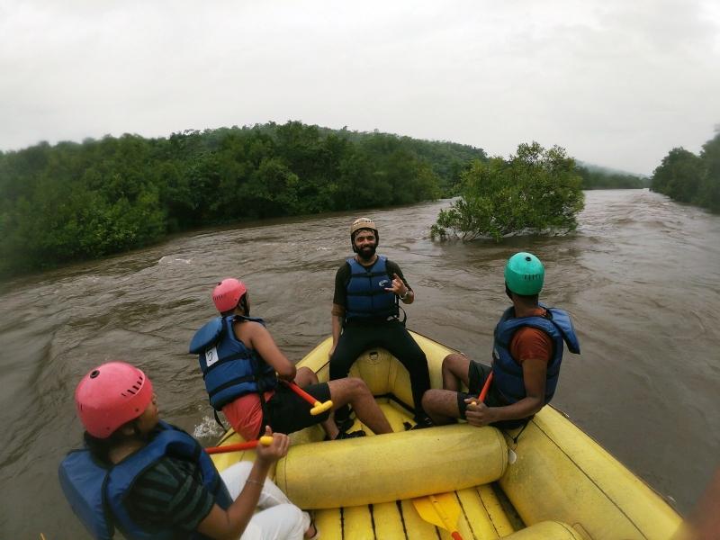 Kolad Rafting Trip with AC Dorm Stay (Weekday)