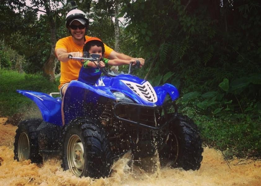 ATV Ride in Koh Samui, Thailand
