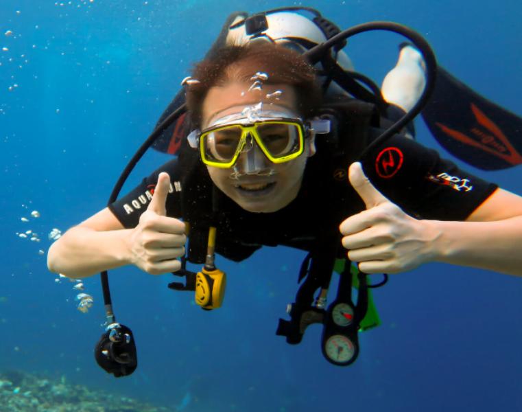 Discover Scuba Diving in Gili Trawangan, Bali