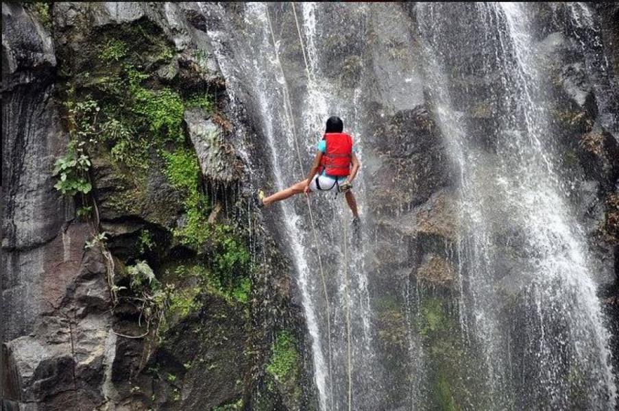 Waterfall Rapelling at Bhekre