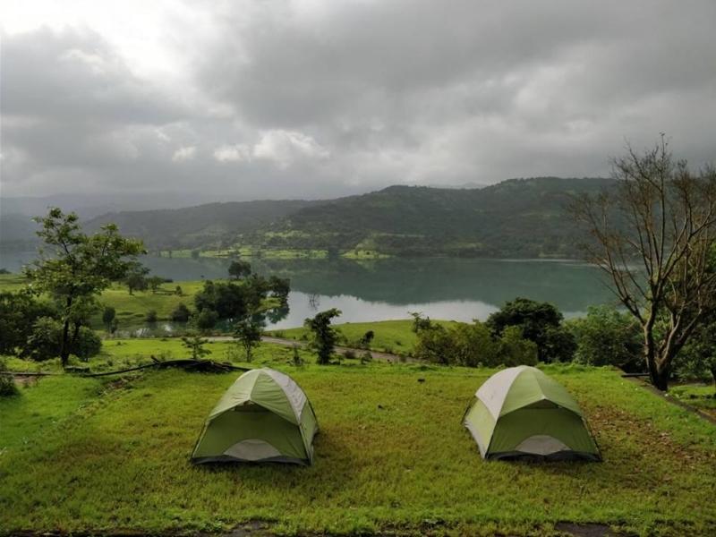 Panshet Backwaters Camping