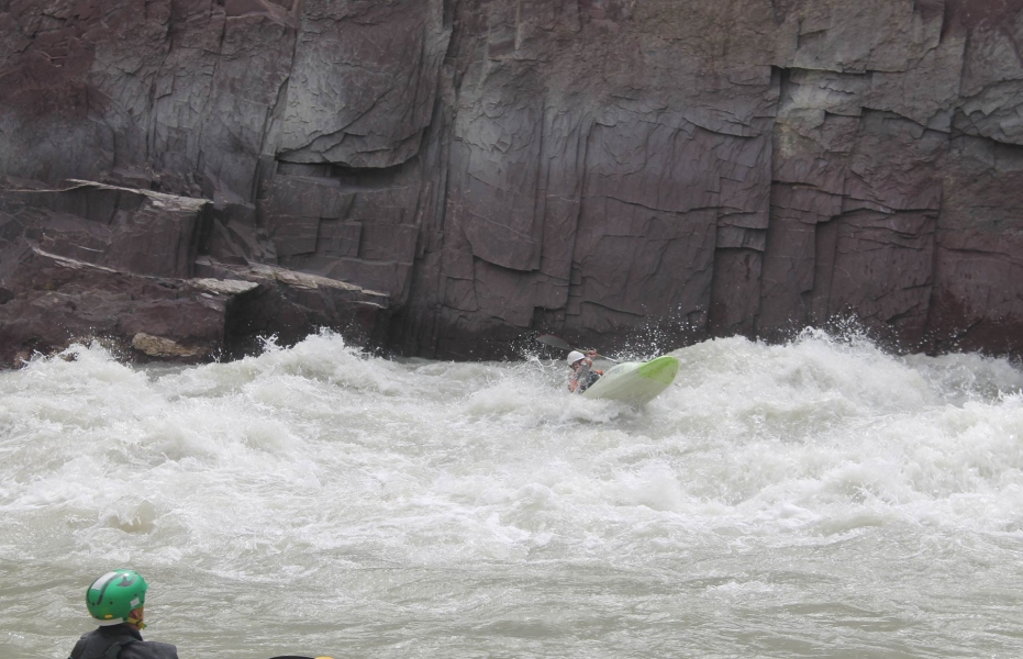 Rafting from Chilling to Nimmo on the Zanskar river