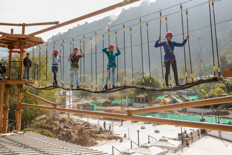 Level 2 Rope Course in Rishikesh