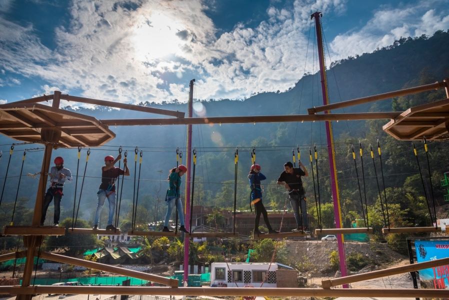 Level 1 Rope Course in Rishikesh