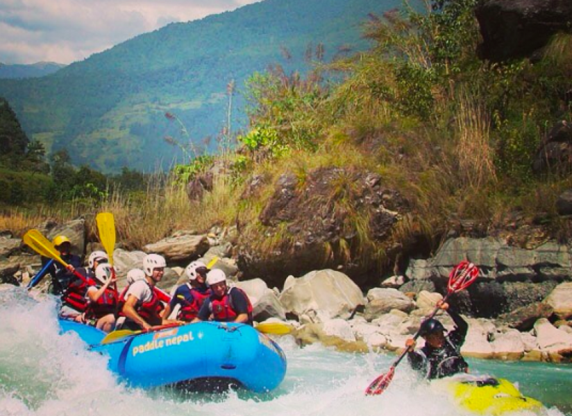 Half-Day Upper Seti River Rafting Trip