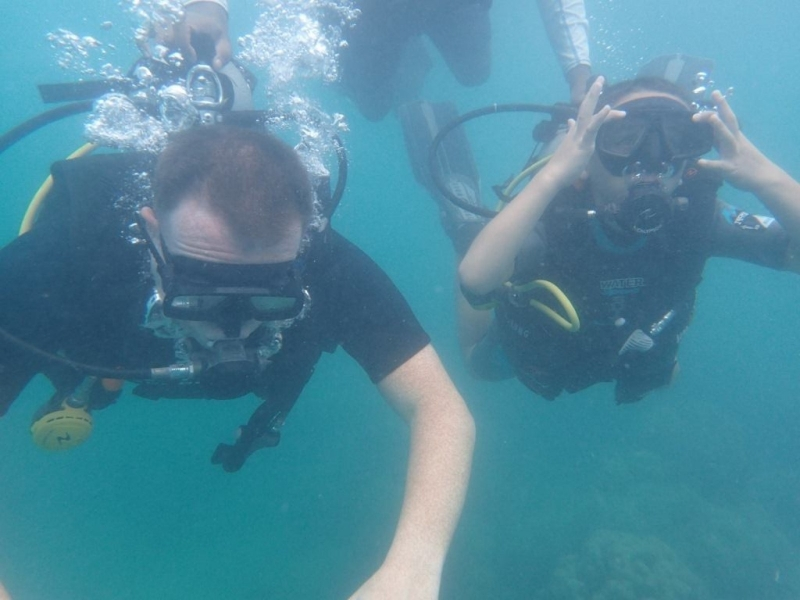 Try Dive (boat) in Andamans