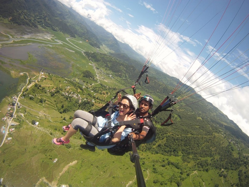 Weekday Tandem Paragliding in Kamshet with Photos and Videos