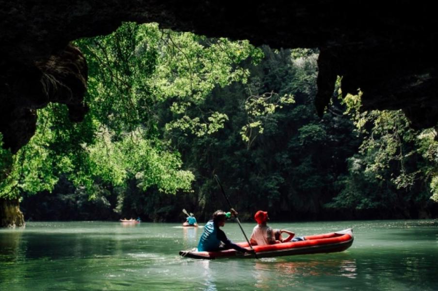 Phang Nga Cave Canoeing Trip