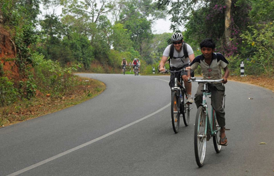 One day cycling through cardamom hills at Periyar