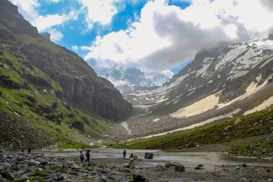 Hampta Pass and Chandratal Lake Trek