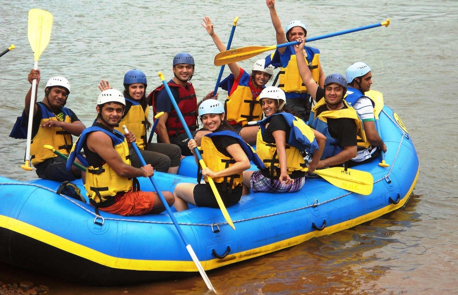 Weekend Rafting Trip with Tent Stay