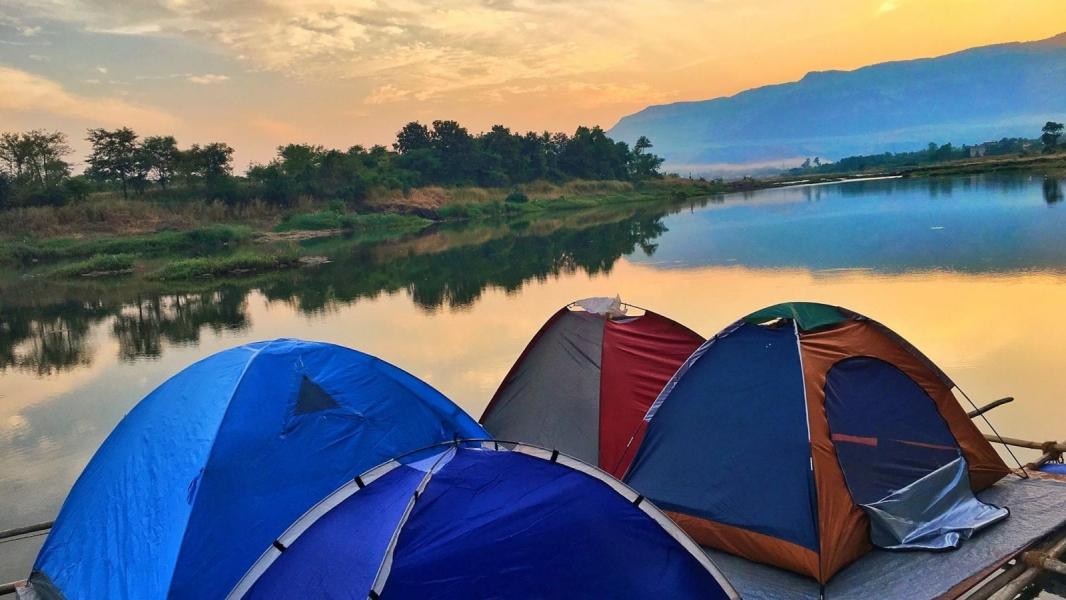 Floating Tents Camping in Karjat (Weekend)