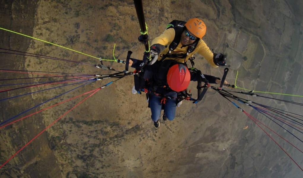 Weekend Tandem Paragliding in Kamshet