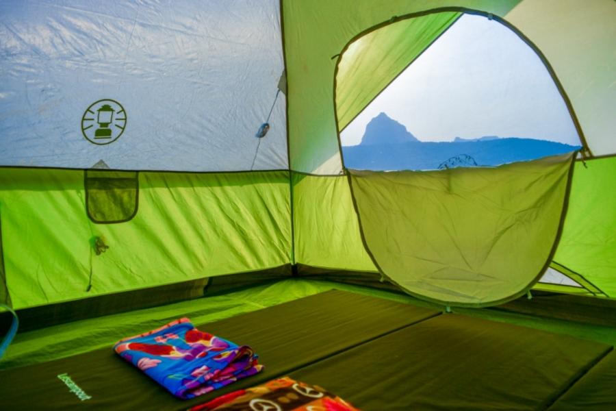 BBQ night and camping at Kalote Lake
