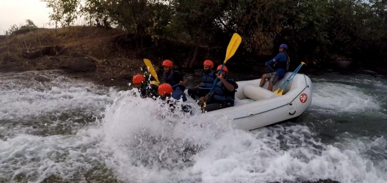 Weekday River Rafting in Karjat