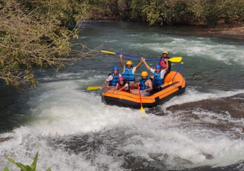 Weekend River Rafting in Karjat