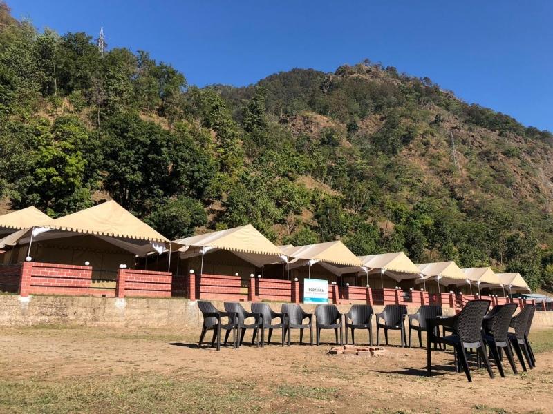 Riverside Camping in Kaudiyala, Rishikesh