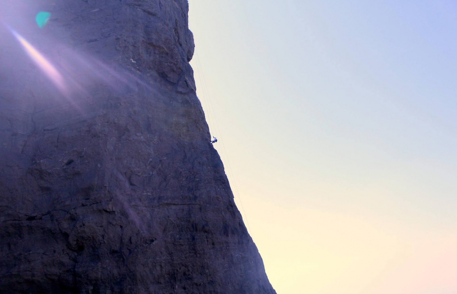 Overnight camp + rappelling at Duke's Nose
