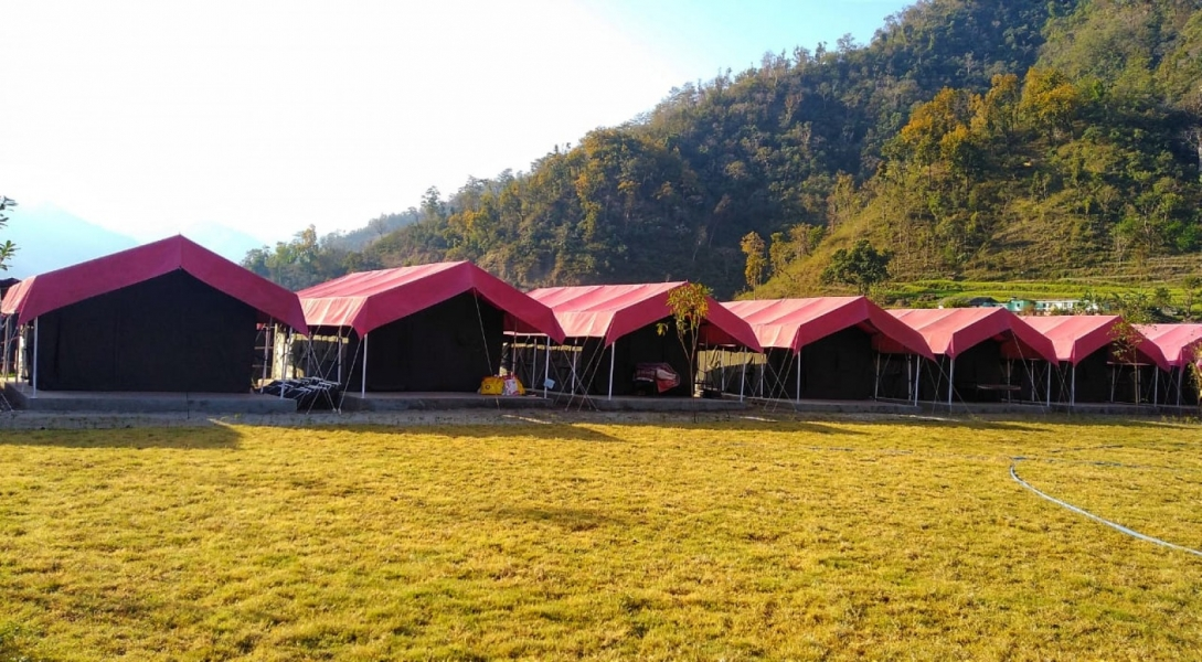 Riverside camping in Rishikesh (1N/2D)