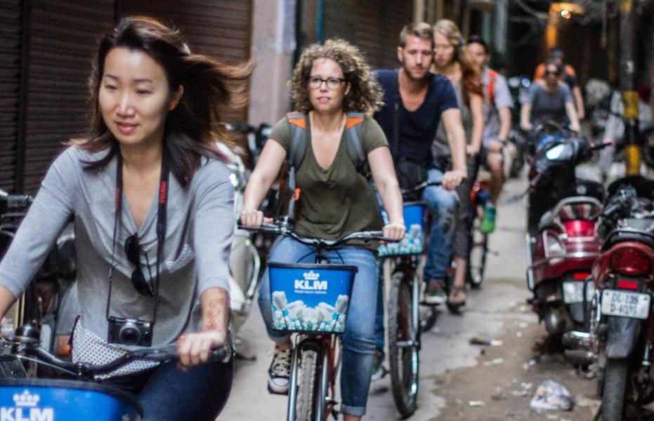 Delhi by Cycle