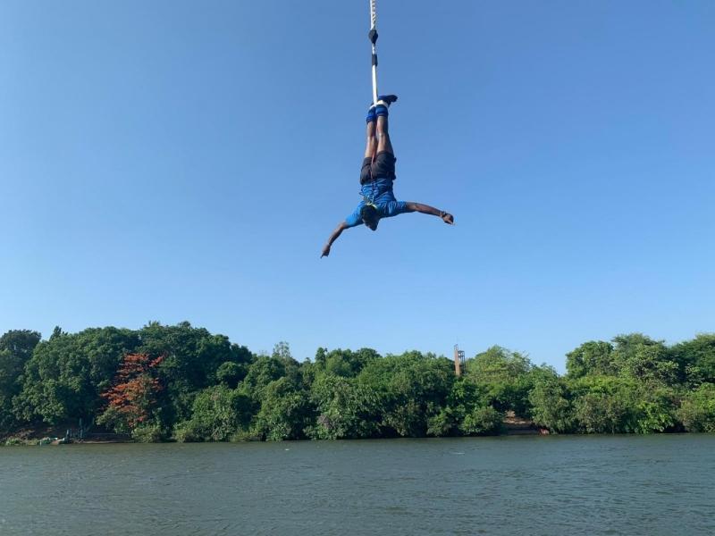 Bungee Jump in Kolad