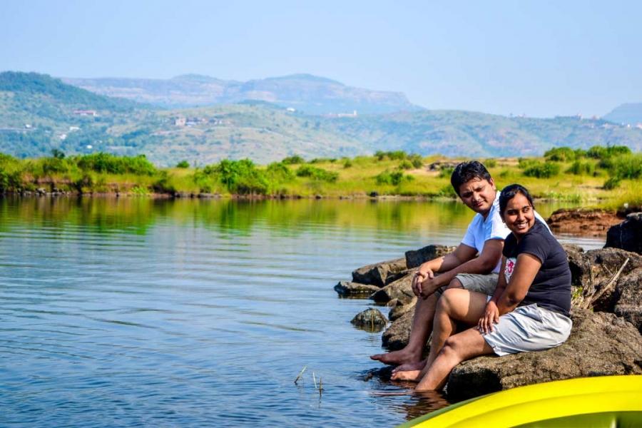 New Year Camping at Pavna Lake