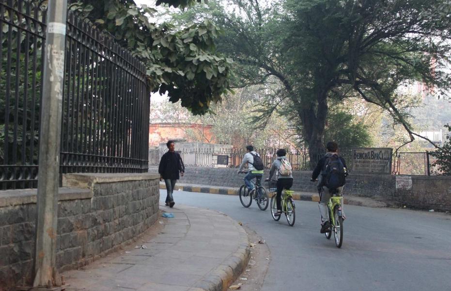 Delhi by Bike