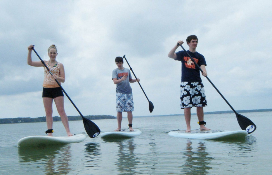 Stand-Up Paddle Boarding in Goa
