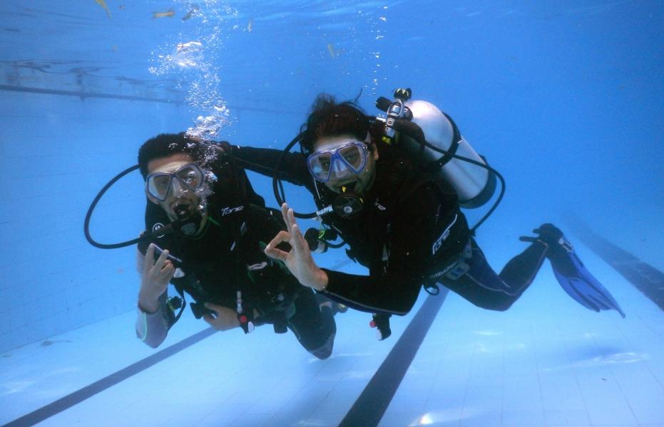 Try a Dive – Tandem Scuba Dive Experience