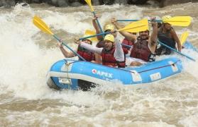 Wild camp+raft in Rishikesh