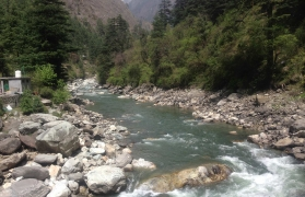 Rafting trip in Kullu