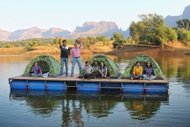 Kurungwadi Camping with Floating Tent Experience