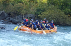 Weekday rafting in Kolad