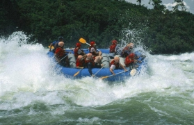 Weekend Rafting with AC Luxury Tent Stay