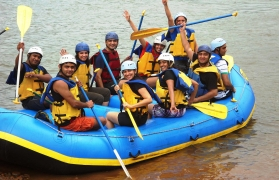 Weekend Group Rafting with Dorm Stay