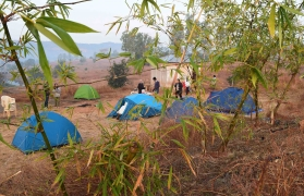 Nature camping near Pune