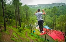 Pine forest camping near Shimla - 2 nights