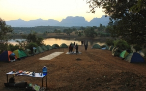 New Year's Special: Kurungwadi Camping in Floating Tents