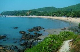 Beach backpacking to Kumta and Gokarna