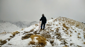 Snow Trek to Kuari Pass