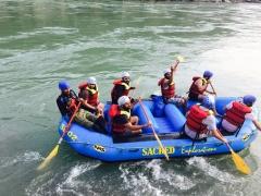 Rafting in Rishikesh - Shivpuri to Nim Beach (16 kms)