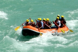 New Year's Special: Rafting in Rishikesh with deluxe Swiss tents